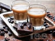 Рецепта Домашен шоколадов ликьор с аромат на кафе